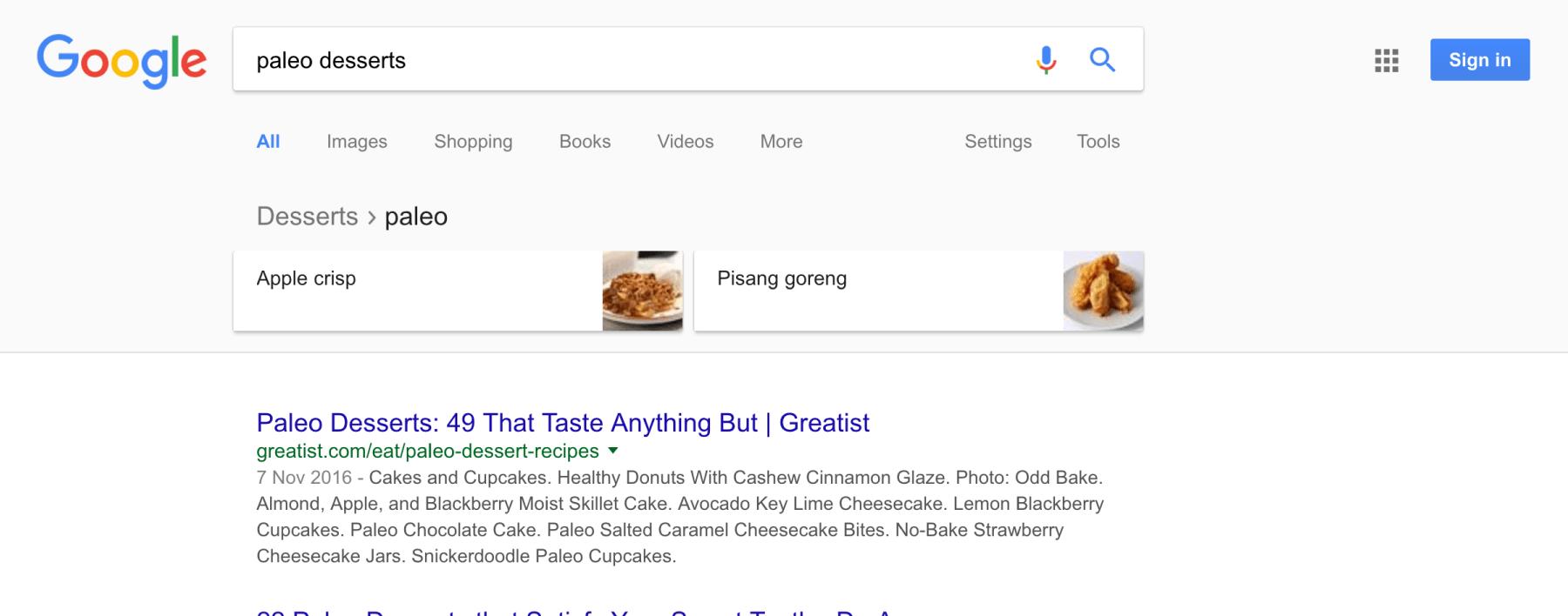google recherches